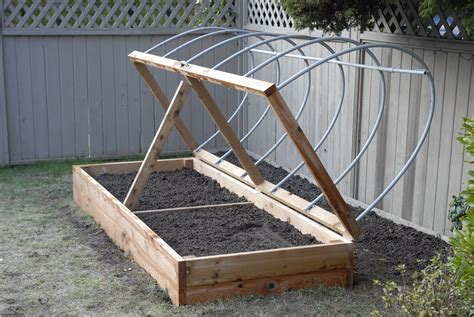 raised planter bed  hinged top raised planter boxes