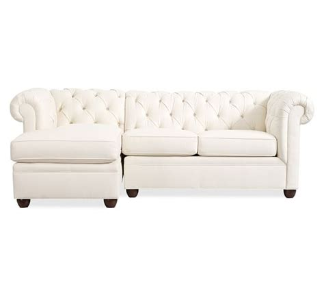 chesterfield sofa with chaise chesterfield upholstered sofa with chaise sectional