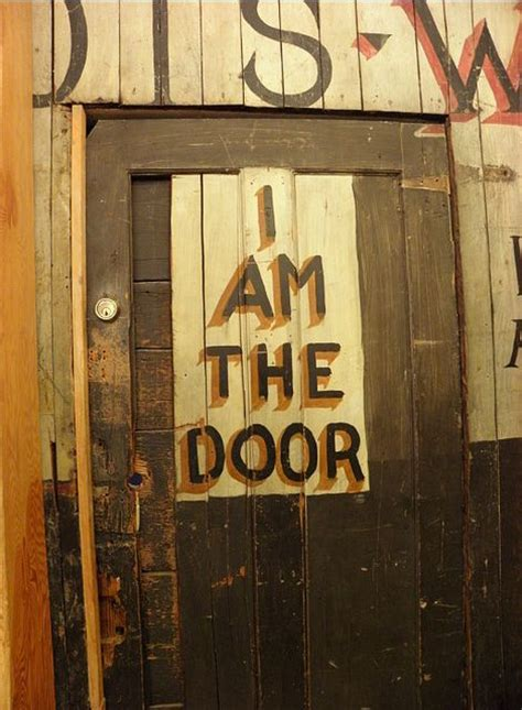 I Am The Door by City Lights Bookstore In San Francisco One Of
