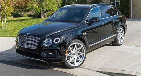 Rapper Ready Bentley Bentayga Poses On 24 Quot Custom Wheels
