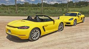 2017 porsche 718 boxster and boxster s test drive review