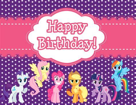 free printable my little pony happy birthday banner free printable my little pony birthday sign free my