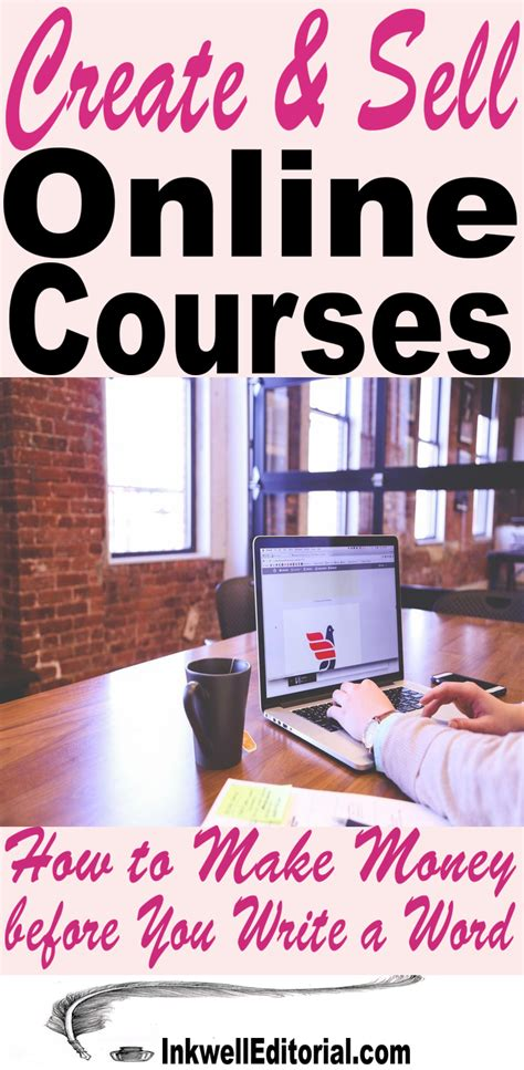Make Money Selling Online Courses - want to create and sell online courses 4 tips for making