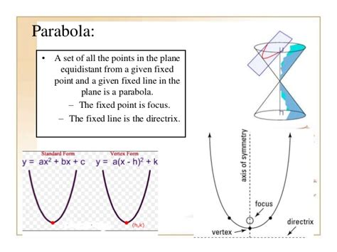 conic section application problems applications of conic sections3