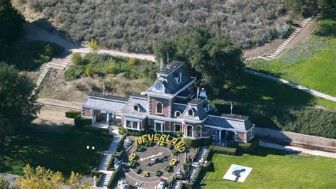 michael jackson s home neverland goes up for sale for 100