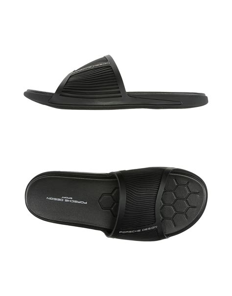 adidas sandal porsche design sport by adidas sandals in black for lyst