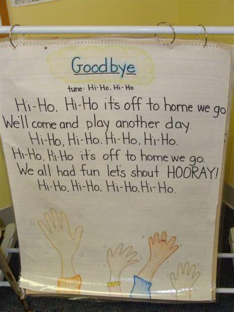 goodbye song kid ideas