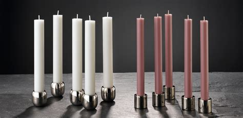 hohe kerzen candle holders engels kerzen