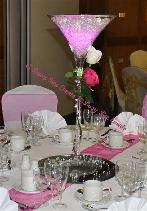 Vase Table Decorations by Martini Vase Centerpieces Table Centerpieces Table
