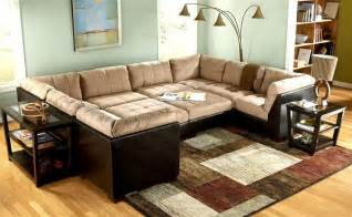 sofa pit 10 pc modular pit sectional grable collection