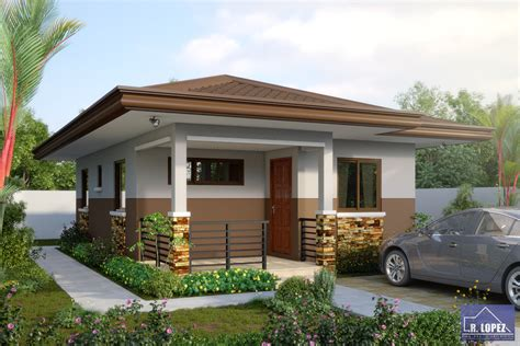 Small And Simple House With Small Living Room Small Simple Small House Design In Philippines