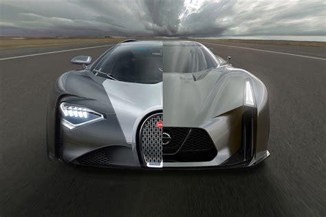 future bugatti 2020 bugatti veyron nachfolger chiron basiert optisch auf