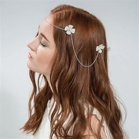 Hairstyles Using Hair Accessories by Buy Flower Drape Bridal Hair Accessory Emmy