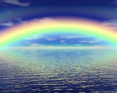 rainbow water water rainbow amazing images