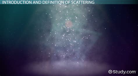What Is Scattering Definition Exles