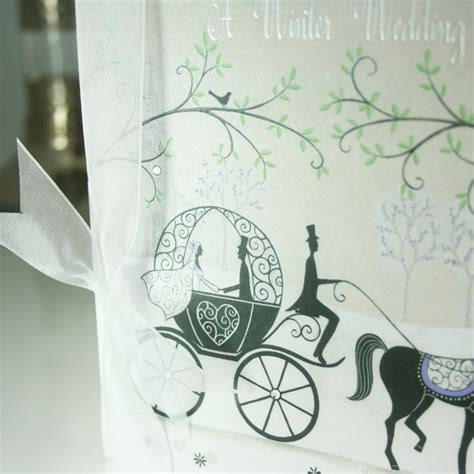 cinderella wedding invitations uk cinderella fairytale and carriage wedding invitation