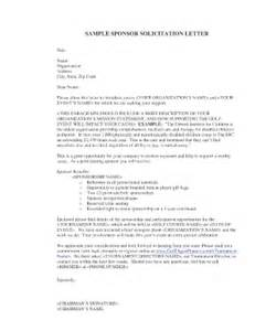 Sample Sponsorship Letter For Charity Golf Tournament football team sponsorship request letter fill online printable