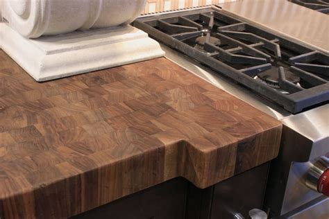 Wood Butcher Block Countertops by Authentic Butcher Block Countertops J Aaron