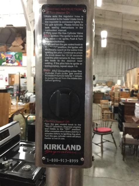 Kirkland Signature Patio Heater Kirkland Signature Stainless Steel Outdoor Patio Propane Hea