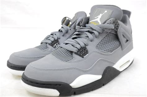 Air 4 Cool Grey Uk by Air 4 Iv 308497 001 Cool Grey Chrome Charcoal Varsity Maize Bball Ebay