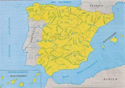 los rios de espana comprendemos mapa de los r 237 os de espa 241 a