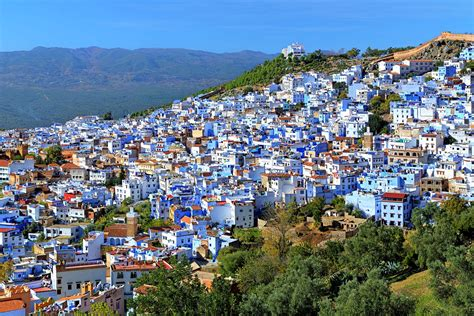 morocco city fez and chefchaouen short break
