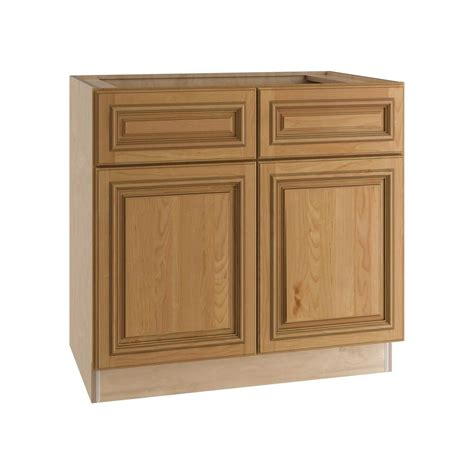 2 drawer base kitchen cabinet home decorators collection clevedon assembled 33x34 5x24