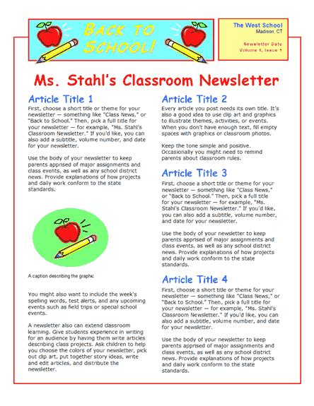 Childcare Newsletter Templates by How To Create A Daycare Newsletter Great Idea A Monthly