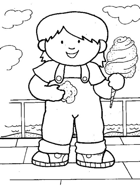 Cotton Candy Coloring Pages Www Imgkid Com The Image Cotton Coloring Pages