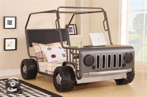 jeep bed in jeep bed frame jeepo jeep car truck vehicle childrens