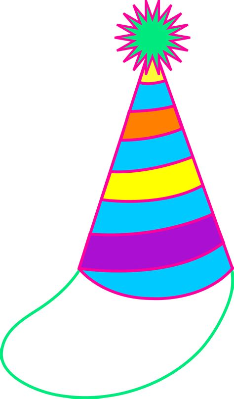birthday hat colorful hat free clip