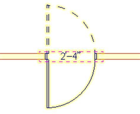 swing door plan softplan home design software openings
