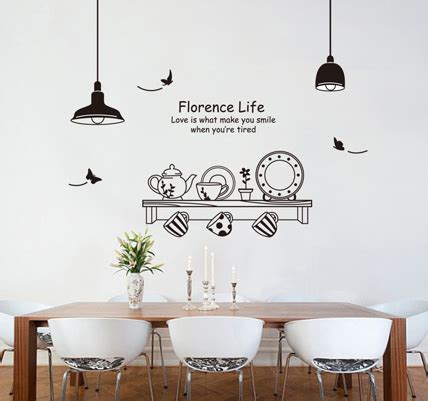 kitchen wall decor stickers wall decals decor promotion shopping for