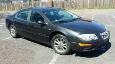 2000 Chrysler 300 For Sale by 2000 Chrysler 300 Series Black For Sale On Craigslist
