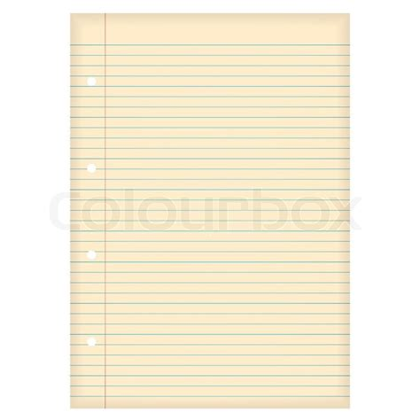 printable lined paper with holes piece of lined a4 paper with aged effect and hole punch