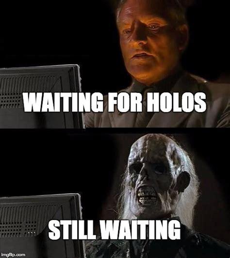 waiting  holos    imgflip