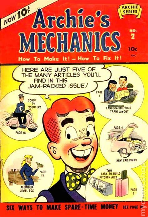 archie s coloring book books archie s mechanics 1954 comic books