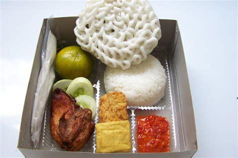 aneka nasi bungkus     macam menu nasi