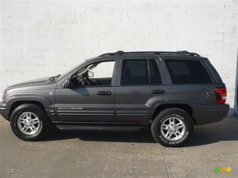 jeep cherokee gray 2004 graphite metallic jeep grand cherokee freedom edition