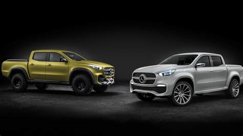 2017 Mercedes Benz X Class Pickup Truck 8k Wallpaper Hd