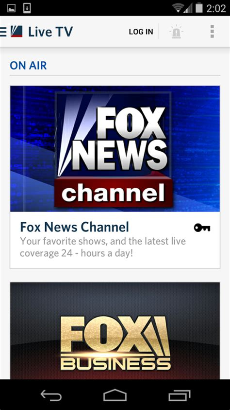 fox news app for android fox news android app gets major facelift in big update to version 2 0