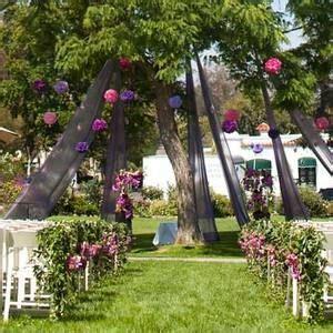 Backyard Wedding Backdrop 17 Best Images About Wedding Ideas On Ceremony