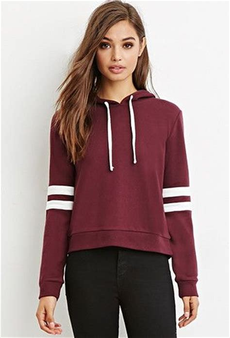 30726 Forever Maroon Flecee forever 21 sweaters and hoodies