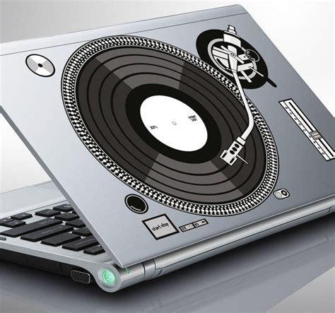 Sticker X Stiker Laptop laptop sticker of a djs turntable tenstickers