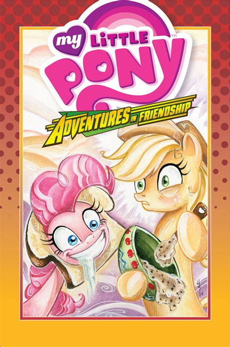 Tiny Tp Vol 02 Adventures In Awesomeness dec140514 my pony adventures in friendship hc vol 02 previews world