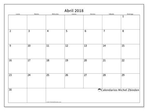 Calendario Outubro De 2018 Calendario Abril 2018 53ld
