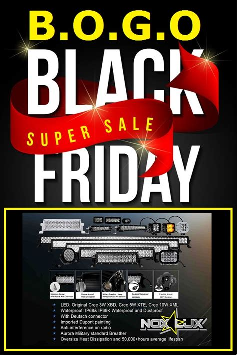 black friday light sale on and offroad 4x4 products offroad events