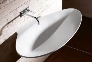 Designer Bathroom Sinks Modern Sink Designs By Burgbad Pli Collection