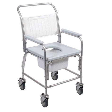 bathroom comod portable shower commode chair nrs healthcare