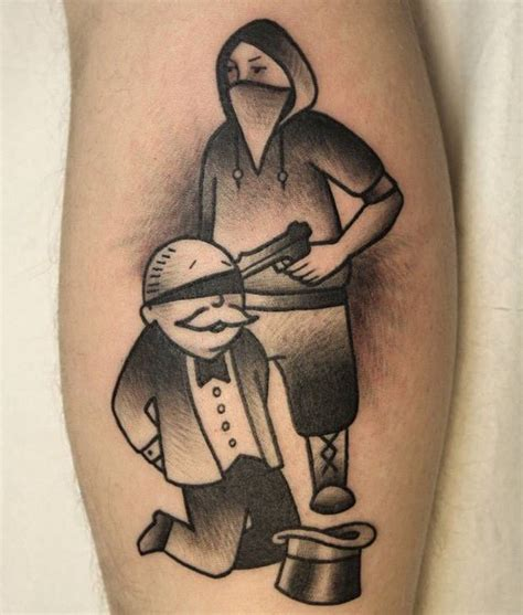 monopoly tattoo designs real monopoly by tlc piercing